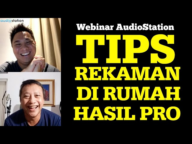 SOLUSI Rekaman #DiRumahSaja Hasil PROFESIONAL ! Live IG AudioStation with Sam Kevin & Agus Hardiman