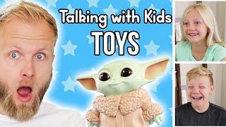 Talking with Kids: TOYS   Walmart Toy Board