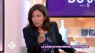 Anne Hidalgo répond aux attaques ! - C à Vous - 04/10/2018