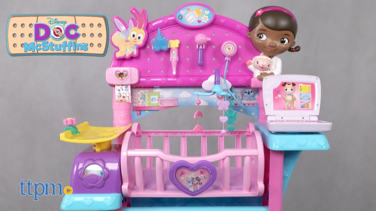 Doc Mcstuffins Baby All In One Nursery Set Review Just Play Toys