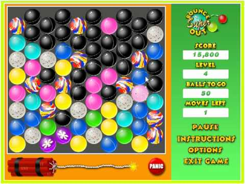 Super Bounce Out Game Play