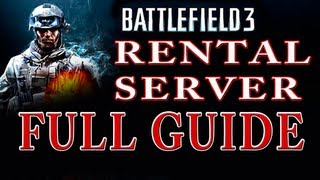 BF3 Server Rental Guide & Features | Walkthrough Tutorial