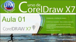 Curso de CorelDraw X7,iniciante, básico e avançado-aula 1, tela de boas vindas