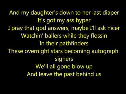 Eminem - Rock Bottom (lyrics)