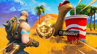PALIER BONUS DE LA SEMAINE 4 (SAISON 5) SUR FORTNITE: Battle Royale !