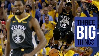 3 Big Things: Complete game for Warriors but injury worries linger
