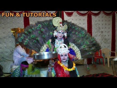 Kanha Mohe aiso Baniyo Mor nachu ta ta thai thai Radha krishna jhanki dance