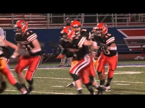 Cincinnati Hills Christian Academy vs Coldwater Football 720p