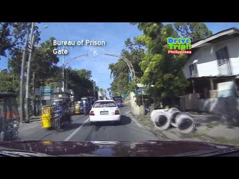 Drive Trip!! - New Bilibid Prison (NBP) Compound / Philippines