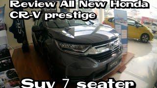 Review All New Honda CR-V prestige 1.5L turbo