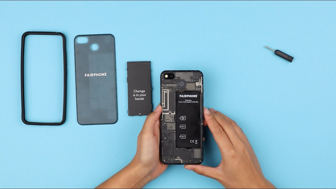 Getting started with the Fairphone 3 - YouTube