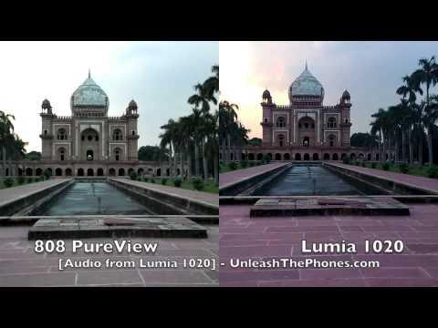 Lumia 1020 vs 808 PureView Camera Comparison