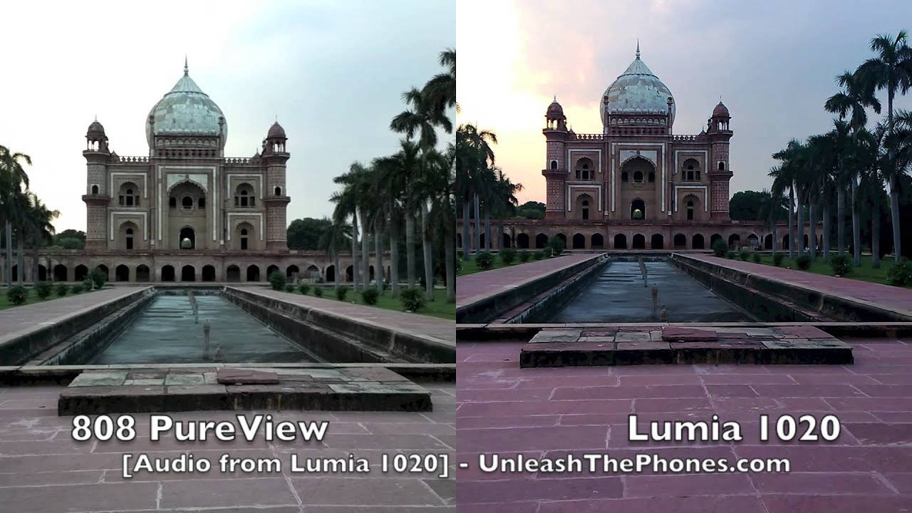 Nokia Lumia 1020 Camera Comparison