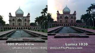 Lumia 1020 vs 808 PureView Camera Comparison