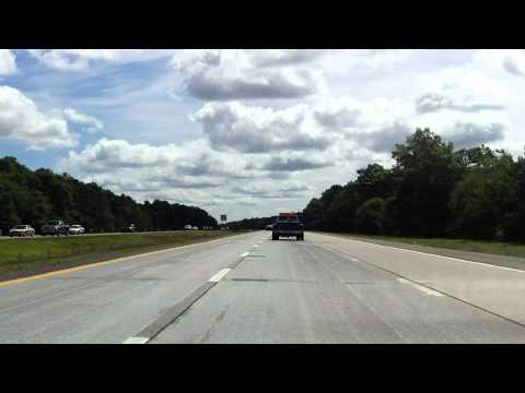 Sunrise Highway (NY 27 Exits 52 to 58) eastbound