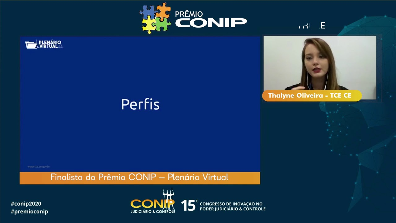 Finalista do Prêmio CONIP – Plenário Virtual
