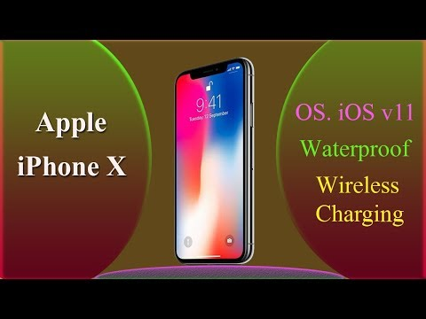 Download Youtube: Apple iPhone X ! OS: iOS v11 ! Wireless Charging ! Waterproof ! Screen to Body Ratio 80.93 %