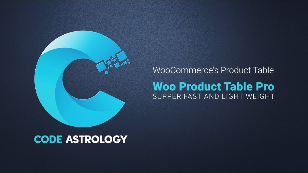 woocommerce product table on wordpress