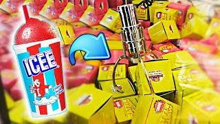 I Won an ICEE From The Claw Machine!!! || Arcade Games