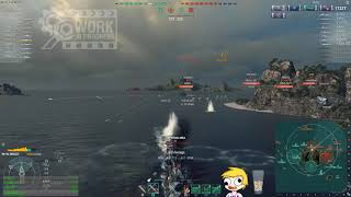World of warships - RUSH the middle the game said
