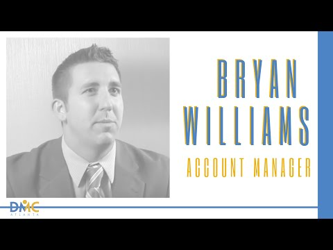 DMC Atlanta Account Manager Bryan Williams