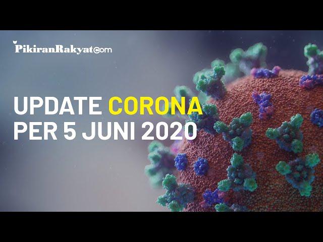 BREAKING NEWS, Update Kasus Virus Corona di Indonesia per 5 Juni, Bertambah 703 Orang Pasien Positif