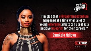 On The Ground: Samkelo Ndlovu On #FillUpOrlandoStadium Setting A Good Example