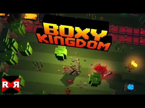 Boxy Kingdom (By Dream Team Partners, LLC) - iOS / Android - Gameplay Video