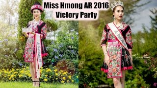 Miss Hmong AR 2016 Victory Party