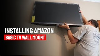Installing Amazon Basic TV Wall Mount