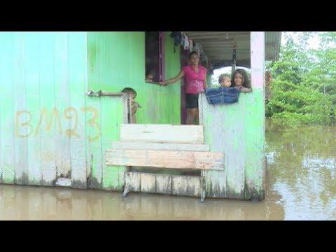 Rio Juruá tem vazante, mas Defesa Civil continua em alerta