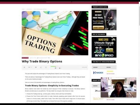 Why Trade Binary Options
