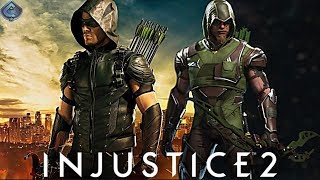 Injustice 2 Online - EPIC CW ARROW LOADOUT!
