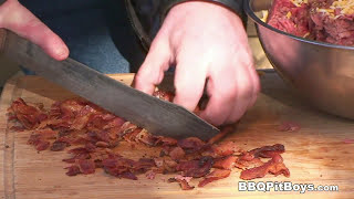 Roast Beef Bacon Cheeseburger Recipe By The Bbq Pit Boys