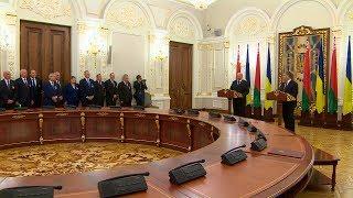 Лукашенко подтверждает готовность Беларуси содействовать мирному урегулированию ситуации в Украине