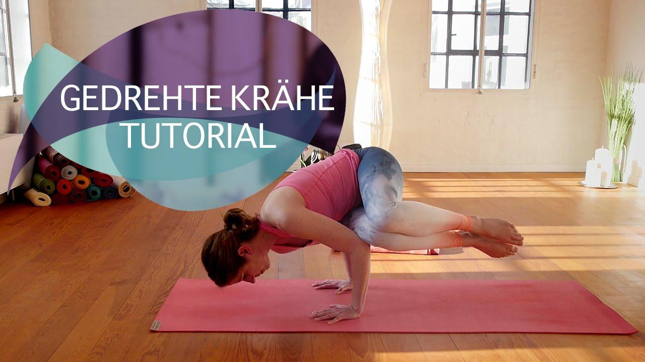 Gedrehte Krähe Yoga Tutorial: Parsva Kakasana schnell gelernt // FlexibleFit Yoga