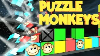 CGR Undertow - PUZZLE MONKEYS review for Nintendo Wii U