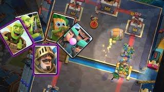 Log Bait Prince Rascals Deck ☘️☘️☘️ Clash Royale Log Bait without Princess