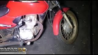 PM de Toledo recupera moto furtada