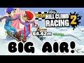 Hill Climb Racing 2 : BIG AIR EVENT! JUMP 1,2,6 & 7