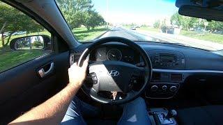 2008 Hyundai Sonata Nf Pov Test Drive