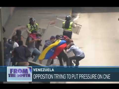 Iain Bruce From Venezuela: Opposition Marches Turn Violent