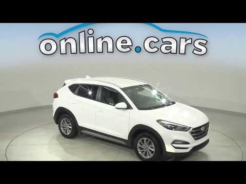 G17109TR Used 2018 Hyundai Tucson White SUV  Test Drive, Review, For Sale