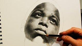 Рисунок простым карандашом.
