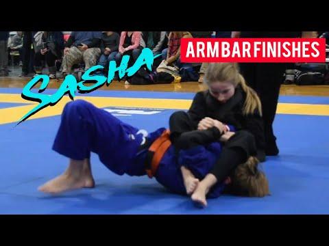 Jiu Jitsu Girl Best Arm Bars