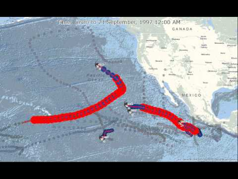 1997 Eastern Pacific Hurricanes