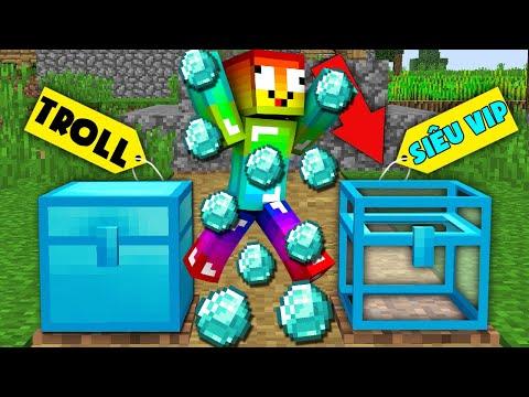 Minecraft, Nhưng Noob Sở Hữu Rương Kim Cương Vip Nhất! Các Chủ Tịch Noob Team Làm Đa Cấp Và Cái