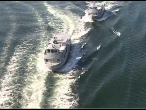 Army Vessel Sea Trials