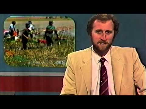 Old South African News TV1 - Nuus Netwerk 1987