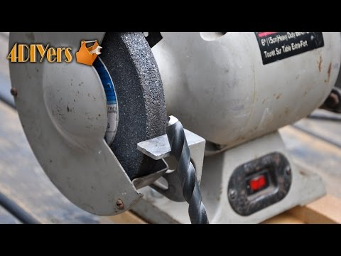 DIY: How to Sharpen a Drill Bit